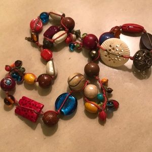 Fun colorful necklace